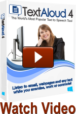 TextAloud Text to Speech Software and Natural Sounding Voices