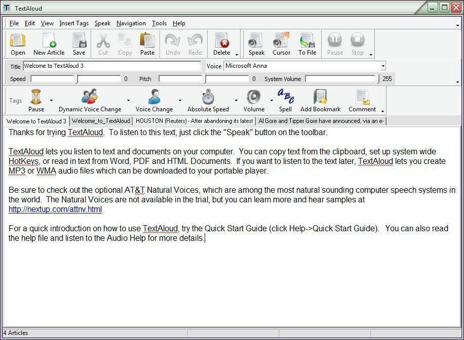حصريـــــا Nextup™ TextAloud v 3.0.43 البرنامج الخرافي الذي