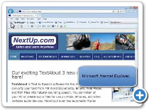 Configuring TextAloud Toolbars in Other Programs